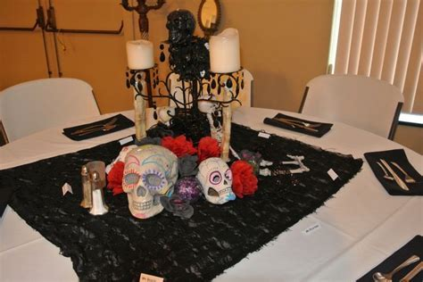 Sugar Skull. Day of the Dead Centerpiece. Halloween