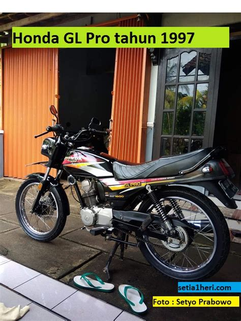 Stripingstickerlis Motor Honda Gl Pro 1997 honda gl pro tahun 1997 setia1heri