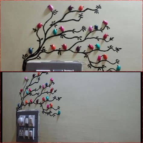 handmade pista shell bird for wall decoration - Decoration Craft