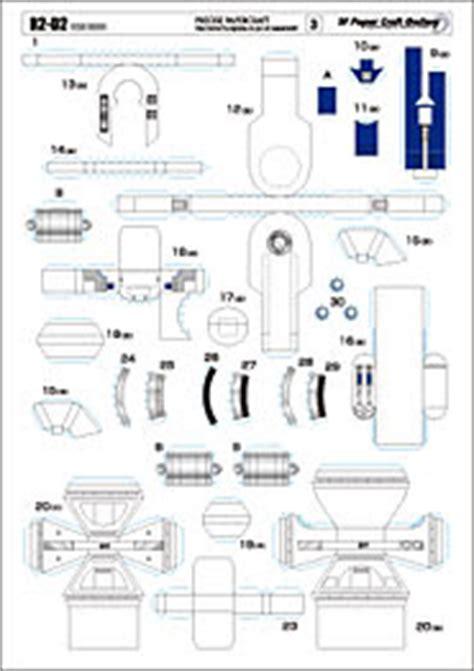 R2d2 Papercraft - peque 241 o yoda papercraft r2d2