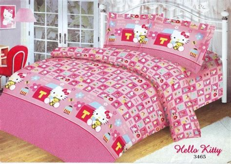 Sprei Set Trivia Ukuran 180x200 house of by merysa bed cover set hello