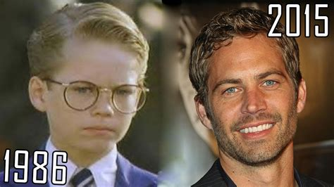 paul walker 1986 2015 all movies list from 1986 how