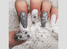 36+ Christmas Nail Designs, Ideas | Design Trends ... French Tip Nail Designs With Glitter