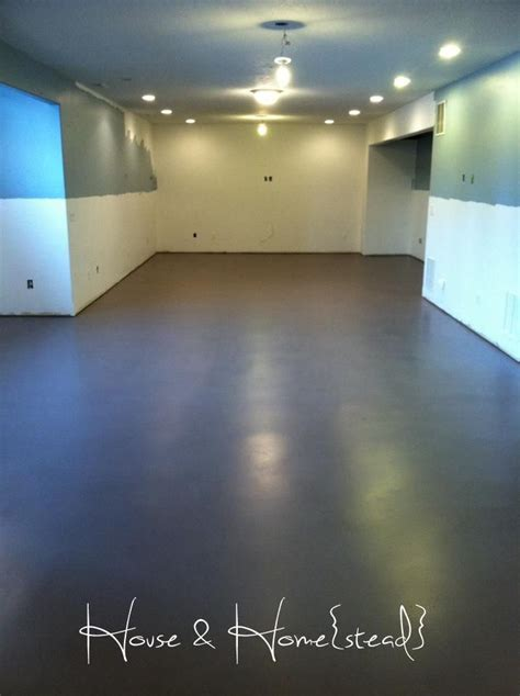 best 25 basement floor paint ideas on
