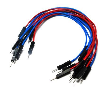 Kabel Jumper Breadboard Arduino Wire Sensor Cable B jumper wires 150 mm bundle of 10 unleash the rocket scientist in you