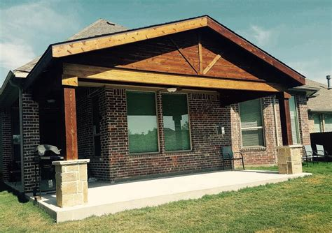 Patio Covers Flower Mound Tx Gable Patio Cover Remodeling Contractor Complete