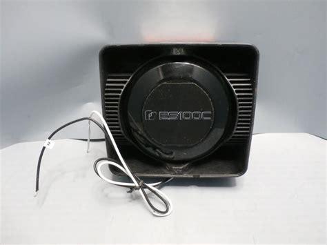 100 watt siren speaker 100 watt siren speaker for sale classifieds