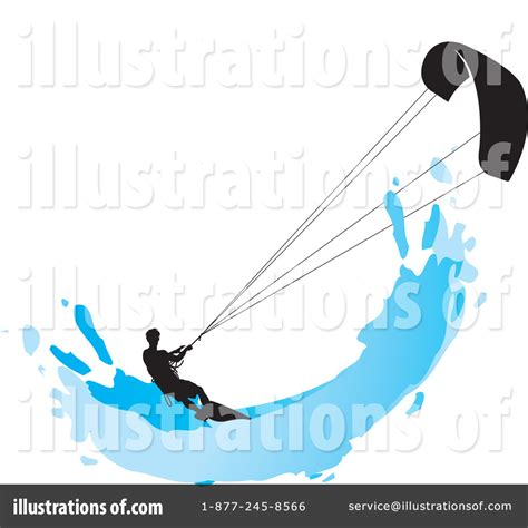 royalty free stock illustrations and photos clipart kite surfing clipart 1224351 illustration by lal perera
