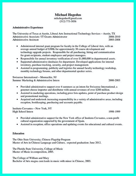 College Application Resume Exles by College Application Resume Builder 28 Images Skills