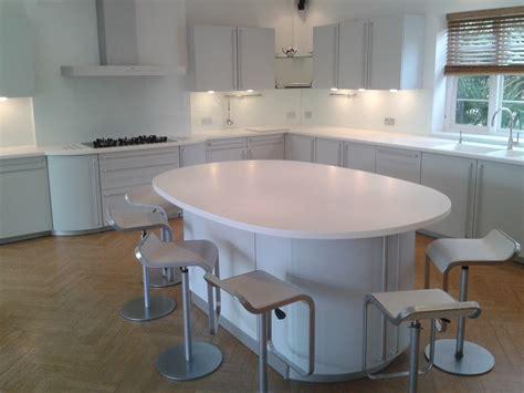 White Corian Kitchen Glacier White Corian 174 Kitchen Worktops Counter