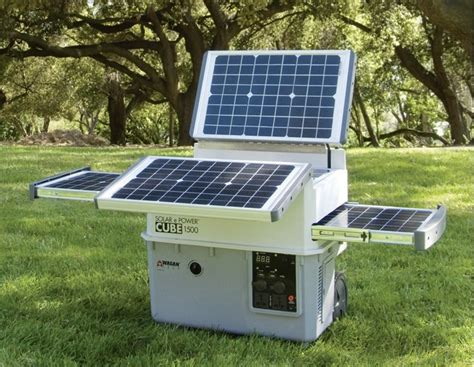 solar e power cube 1500 plus portable solar generator 1500