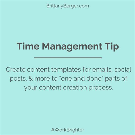 The Ultimate Guide To Time Management Systems For Creative Entrepreneurs Content Creation Template