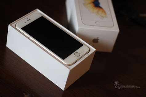 gold iphone  unboxed