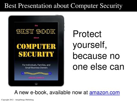 best presentation about computer security for individuals