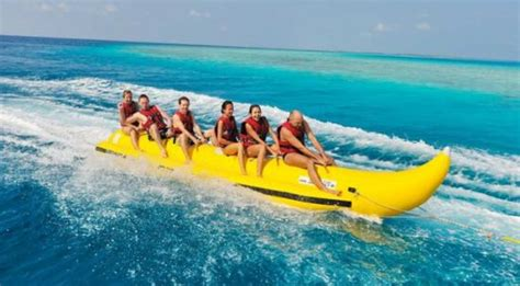 banana boat ride pictures water sports banana boat ride picture of hotel ocean