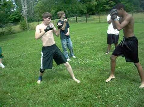 backyard fights videos backyard mma fight 1 youtube