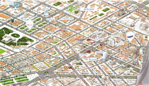3d maps ho chi minh city 3d map saigon
