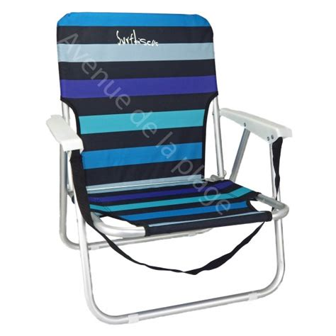 chaise pliante de plage chaise de plage basse en aluminium pas cher avenue de la