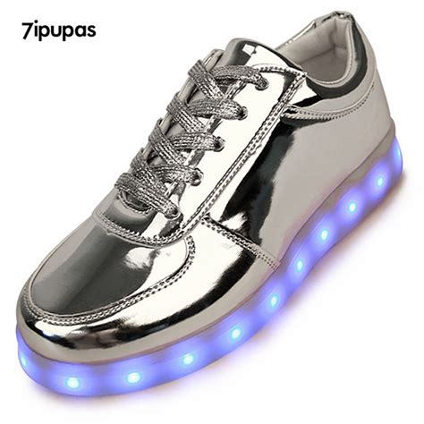 light up sneakers for adults 7ipupas shining luminous sport led shoes men with lighted