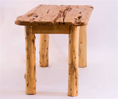 Handmade Wood Dining Tables - rustic handmade wooden dining table by kwetu