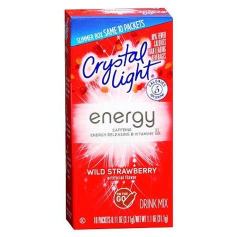 energy drink mixes light energy drink mix powder strawberry walgreens
