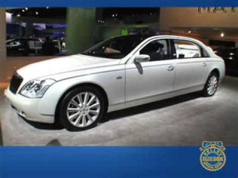 kelley blue book classic cars 2008 maybach 57 lane departure warning maybach landaulet detroit auto show kelley blue book s first look youtube