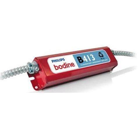 led bodenle bodine b413 bodine ballast emergency lighting
