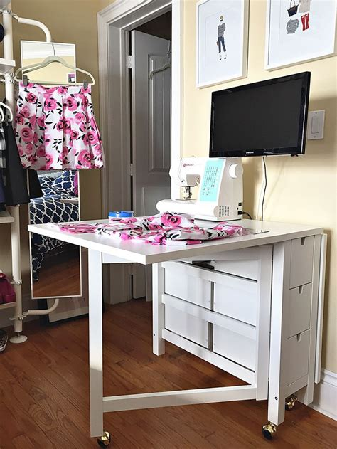 folding sewing table ikea history in high heels ikea sewing table decorating