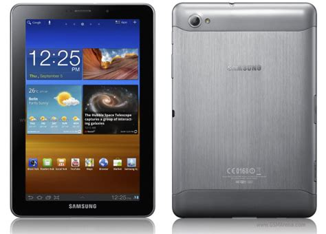 Samsung Tab P6800 samsung p6800 galaxy tab 7 7 pictures official photos