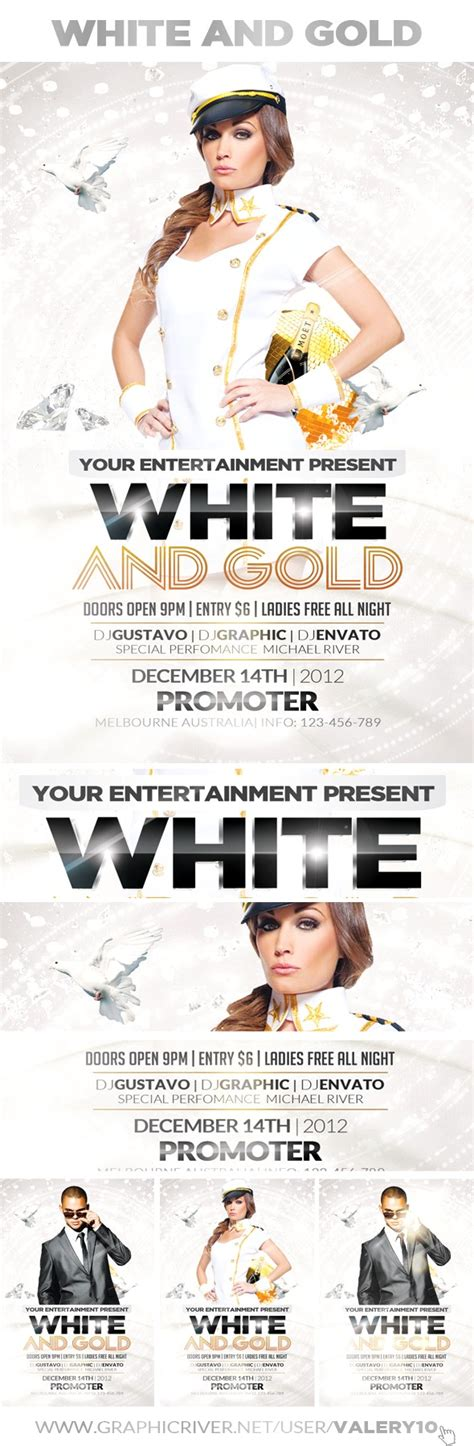 template flyer white party 60 free psd poster and flyer templates updated