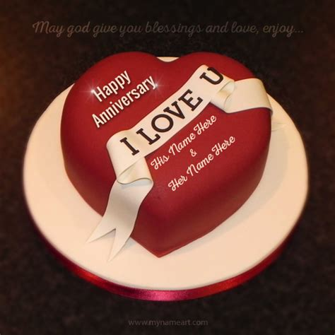 7th Anniversary Wedding Dp by Anniversary Blessing Wishes With Cake Picture Maker