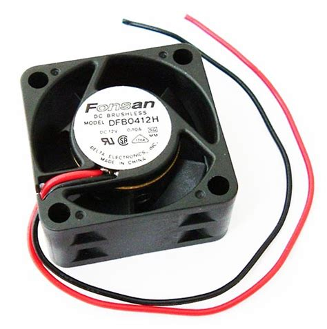 dc brushless fan 12v 12v 10a 5 blade dc brushless fan 40mm delta dfb0412h