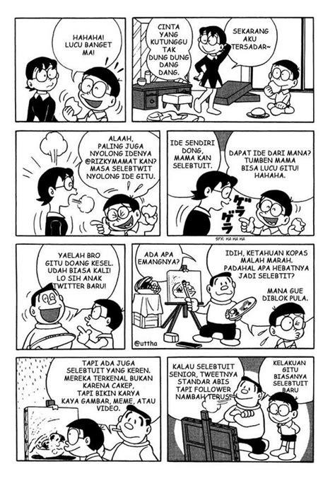 Komik Cabutan Doraemon 31 dino yang baik on quot x rt liputan9 komik lanjutan doraemon palsu episode