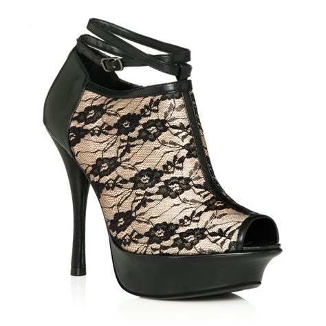 justfab shoes candela in black get great deals at justfab