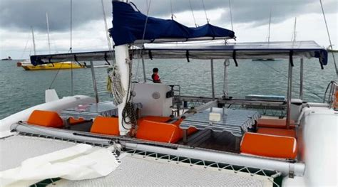 catamaran yacht tour catamaran silky yachts tours on koh samui