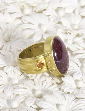 505 Cts Ruby the golden eye ruby ring
