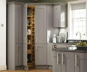 Kitchen Cabinet Pantry Unit by Kitchen Feature Storage Larder Amp Corner Pantry Benchmarx