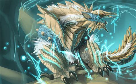 Lightning The Hunt lagiacrus god of lightning the world