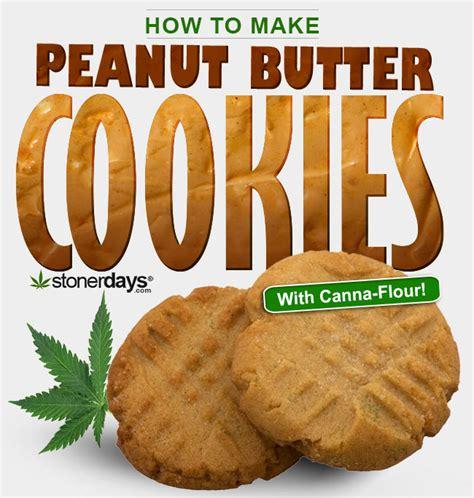 how to make peanut butter cookies with marijuana stoner