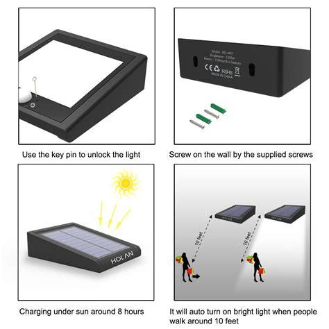 brightest motion sensor light galleon brightest 30 led solar light mulcolor outdoor