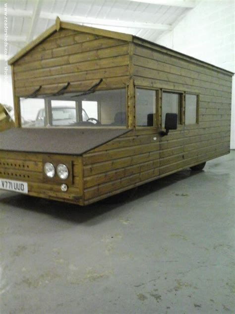 Shed On Wheels by Shed On Wheels Built On A Volkswagen Chassis Set To