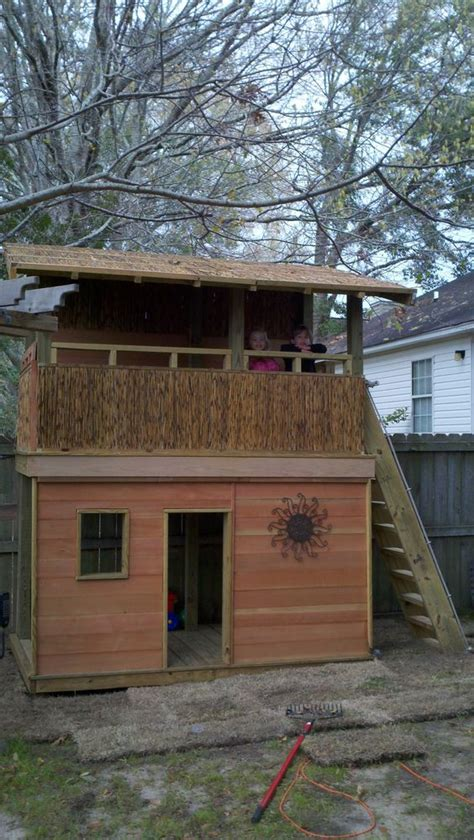 Backyard Clubhouse Ideas Custom Clubhouse Backyard Escapes Pinterest Clubhouses And