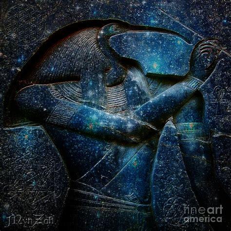 Ancient Egyptian Home Decor by Thoth Digital Art By Mynzah Osiris