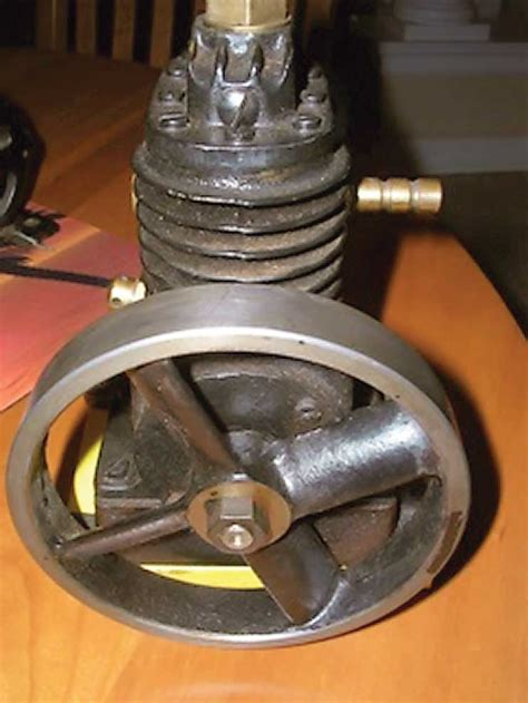 antique air compressor iron questions