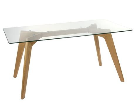 mesa comedor madera y cristal mesa comedor madera y cristal templado mesas de comedor