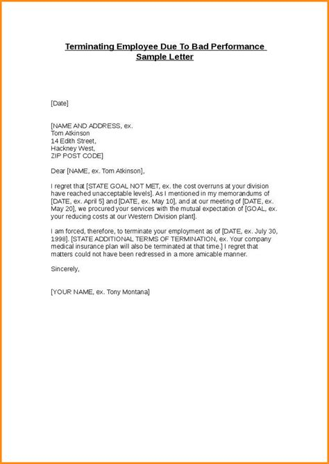 Cancellation Letter Due To Poor Service 11 Letter Of Termination Of Employment Mac Resume Template