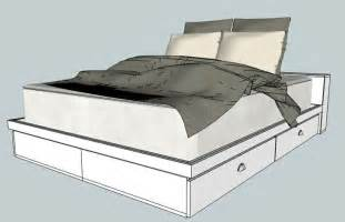 How To Make A Queen Platform Bed With Storage by Pin By Nicole Hirliman On For The Home Pinterest
