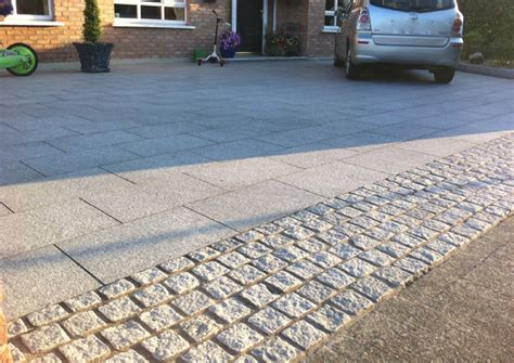 impress your neighbours with a granite driveway