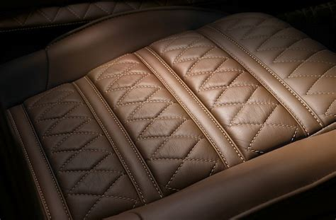auto upholstery patterns moving beyond traditional diamond pleats