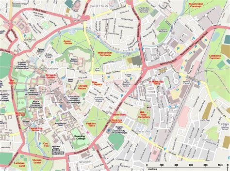 map uk cambridge map of cambridge city centre